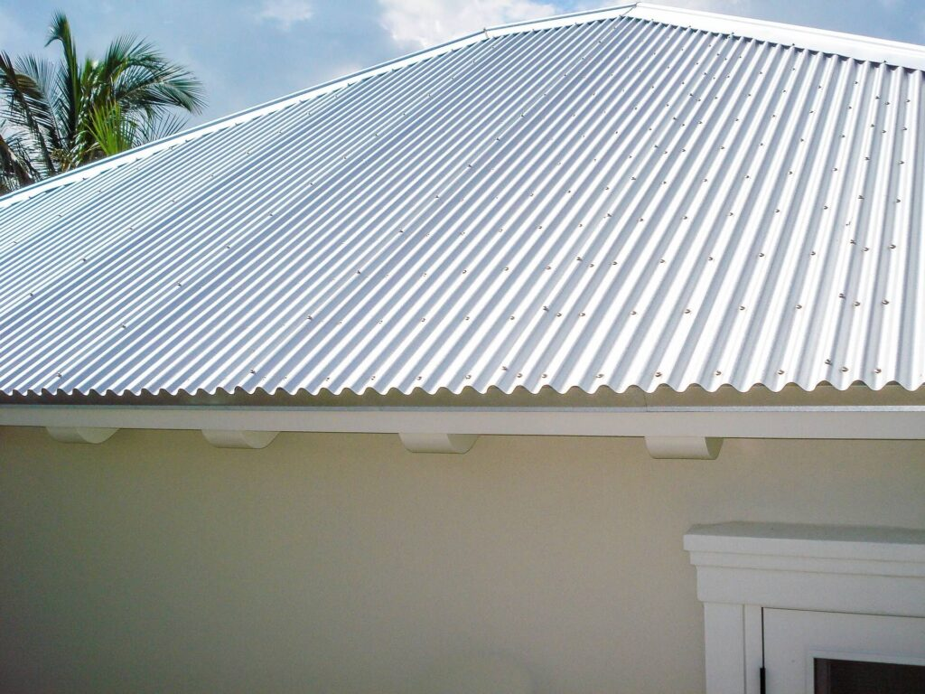 Corrugated Metal Roof-Quality Metal Roofing Crew of Plantation